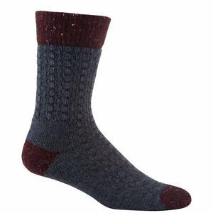 "Women/'s /""My Favorite Pair/"" Crew Socks Size 6~10 Wigwam Classic Burgundy"