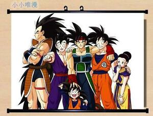DragonBall Z Super Saiyan Son Goku Home Decor Poster Wall ...