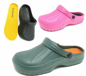 2ec49077731 Details about Womens Clogs Mules Slipper Nursing Garden Beach Sandals  Hospital Rubber Shoes