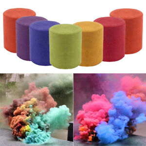 Details about Smoke Cake Colorful Smoke Effect Show Round Bomb Stage  Photography Aid Toy Gifts