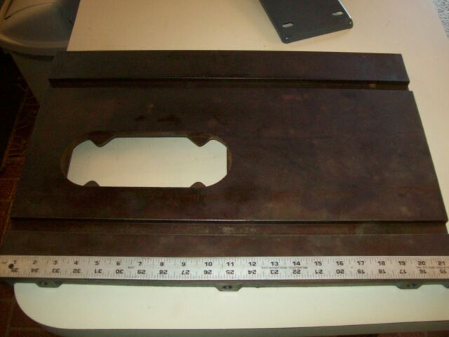 15 X 22 Cast Iron Table Tab 101 Vintage Delta Homecraft 8 Saw 34 500