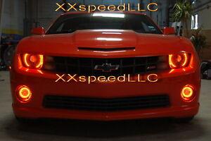 Foglight Halo Angel Eyes Kit ORACLE Chevrolet Camaro 10-13 GREEN LED Headlight
