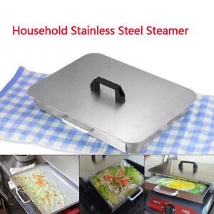 Stainless-Steel-Rice-Dumpling-Gedaempftes-Reismehl-Rolls-Dampfplatte-Steamer-SALE