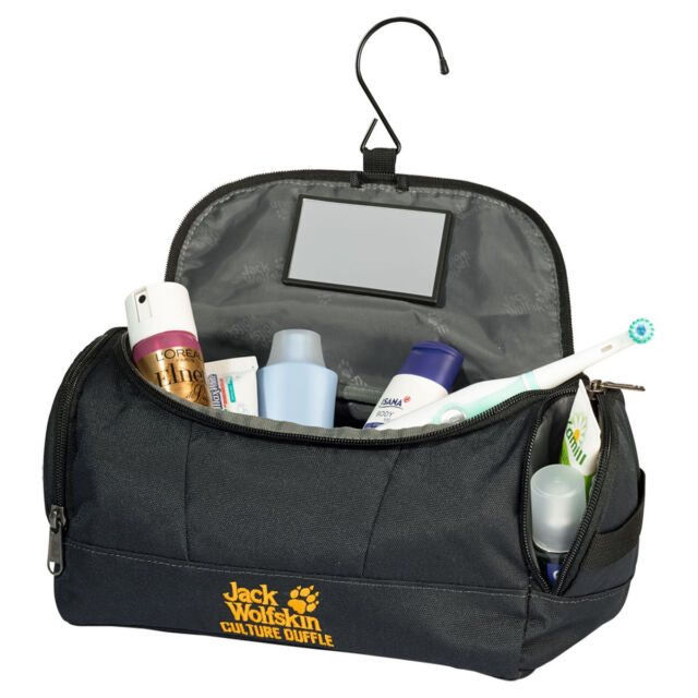 455c103806 Jack Wolfskin Mens Culture Duffle Polyester Travel Wash Bag for sale ...