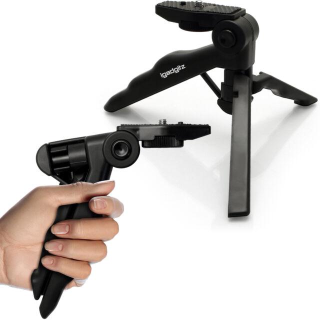 Universal Mini Hand Pistol Grip Tabletop Travel Tripod Stabilizer Stand Holder
