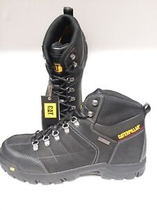 Details About Cat Mens Threshold Work Boot Soft Steel Toe Black Size 14 P90936