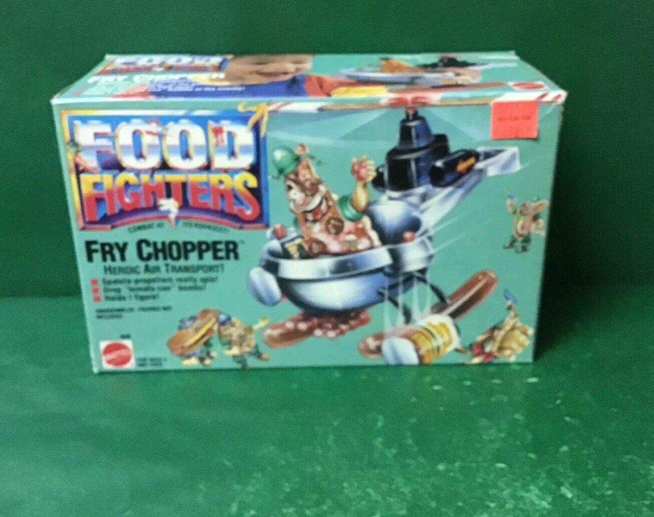Picador de Comida de los combatientes  freír  sin usar, en caja de 1988 por Mattel No.1898