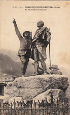 CHAMONIX MONT-BLANC 513 le monument de Saussure
