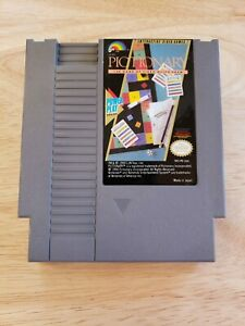NES-Pictionary-Good-Condition-Tested-Working-amp-Authentic-Nintendo-Game