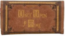 """Licensed ABC """"ONCE UPON A TIME"""" Story Book Cover Snap Closure Tri-fold Wallet"""