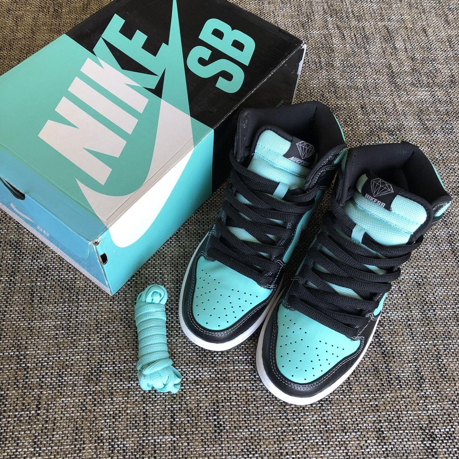 Nike SB Supply Dunk alto x Diamond Supply SB comodo Wild Casual Shoes c4f974