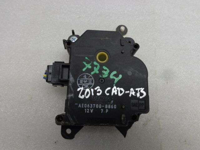 2013 Cadillac ATS Blend Door Motor Actuator AE063700-8860 OEM Used