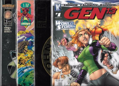 GEN 13 BALL /& CHAIN WILDCATS 3.0 + IMAGE COMIC #1 LOT OF 8 TRIBE NINE VOLT