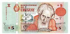 Uruguay ... P-80a ... 5  pesos Uruguayos ... 1998 ... CH*UNC*   Serie C.