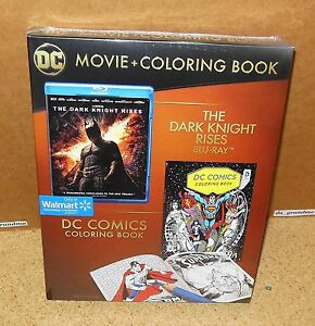 Dark Knight Rises With Dc Comics Coloring Book Walmart Exclusive