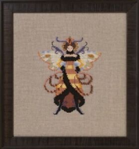 Miss-Honey-Bee-Intriguing-Insects-Collection-NC262-Nora-Corbett-New-Chart