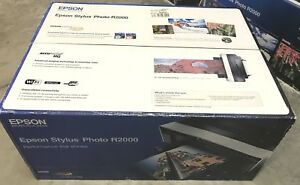 Factory-Sealed-Brand-New-Epson-Stylus-Photo-R2000-Wide-Format-Wireless-Printer