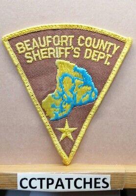 BEAUFORT COUNTY JAILOR SHERIFF PATCH SOUTH CAROLINA