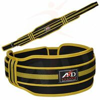 Ard Champs™ Neoprene Weight Lifting Belt Back Support Gym Belts 5 Wide Yellow M