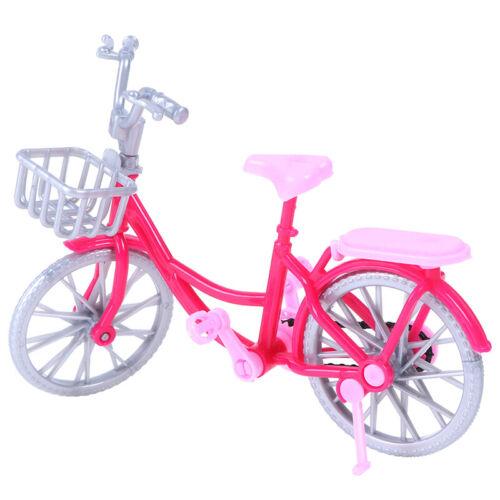 Puppe Fahrrad Spielzeug Zubehör Puppenhaus Szene Display Requisiten RAS