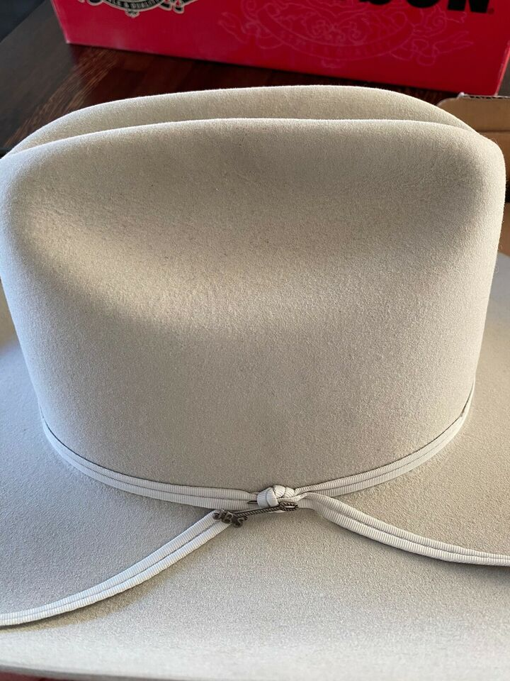 Hat, Stetson, Silver