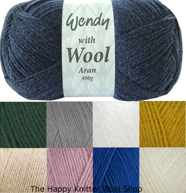 STYLECRAFT 400 G BALL SPECIAL ARAN WITH WOOL AVAILABLE IN VARIOUS SHADES