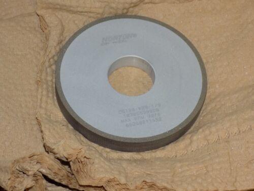 Norton CB120-WBB-1//8 CBN Superabrasive Grinding Wheel 4 x 1//2 x 1 1//4