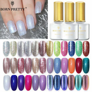 BORN-PRETTY-Glitter-Gel-Nail-Polish-UV-LED-Soak-off-Varnish-UV-Gel
