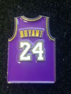 Kobe Bryant Jersey Pin, #24 | eBay