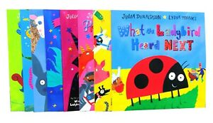 What-The-Ladybird-Heard-8-Books-Children-Collection-Paperback-By-Julia-Donaldson