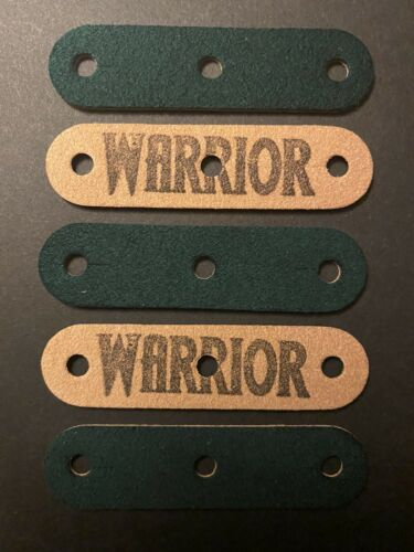Warrior Pouches ™ Slingshot pouch microfiber laminated Luxury Apache x 5