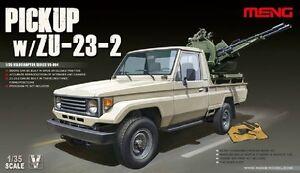 Meng-VS-004-Model-1-35-Pickup-w-ZU-23-2-Truck-Brand-New-for-War-Hot