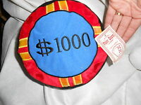 Kellytoy Kelly Toy 8 1000 Poker Charm Plush Kuddle Me Toys 2005