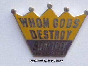 Star Trek Whom Gods Destroy Original Series Episode Pin Badge STPIN7971