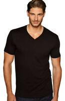 Next Level Premium Men's V-Neck T-Shirt Ultra Soft Basic Plain V Neck Tee. N3200