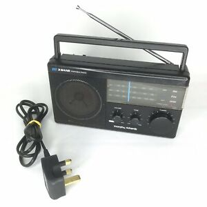 Vintage-Morphy-Richards-R190-Radio-3-Band-FM-MW-LW