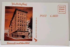 John-Wesley-Hotel-Savannah-039-s-Small-Clean-Hotel-Postcard-A20