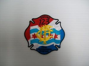 Chicago Fire Department Patch Illinois IL v5