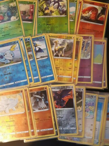 Pokemon SWORD /& SHIELD REVERSE HOLOS 004//202-184//202 New//Near Mint