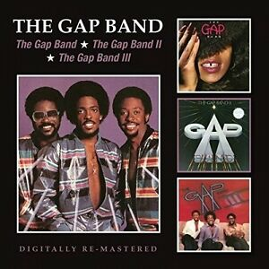 The-Gap-Band-Gap-Band-I-II-amp-III-New-CD-UK-Import