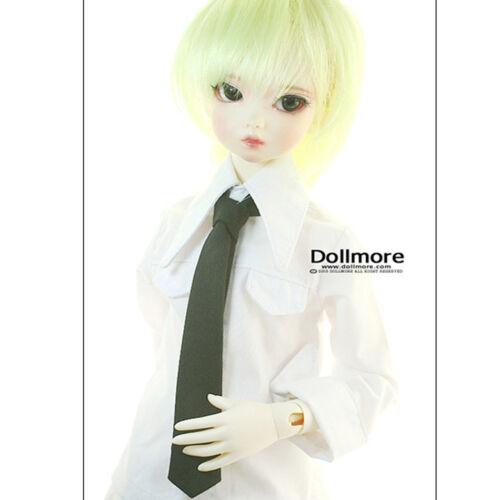 "Dollmore 17/"" 1//4 BJD MSD Accessory MSD Solid Necktie Black"