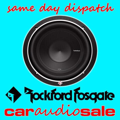 "ROCKFORD FOSGATE P1S2-10 10/"" pulgadas coche Subwoofer Bajo Altavoces De 500 W X 2 Subs"