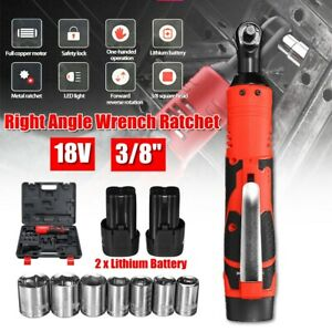 3-8-039-039-18V-60N-m-8000mAh-Cordless-Ratchet-Right-Angle-Wrench-W-2-xLi-ion-Battery