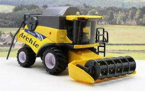 PERSONALISED-NAME-Gift-Yellow-Combine-Harvester-Farm-Toys-Boys-Toy-Present-Boxed