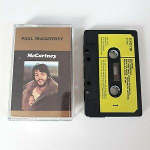 PAUL-MCCARTNEY-S-T-SELF-TITLED-CASSETTE-TAPE-1970-PAPER-LABEL-PARLOPHONE-EMI-UK