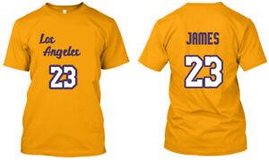 Lebron-James-23-Los-Angeles-LA-Men-Women-Youth-Tee-T-Shirt-XS-3XL