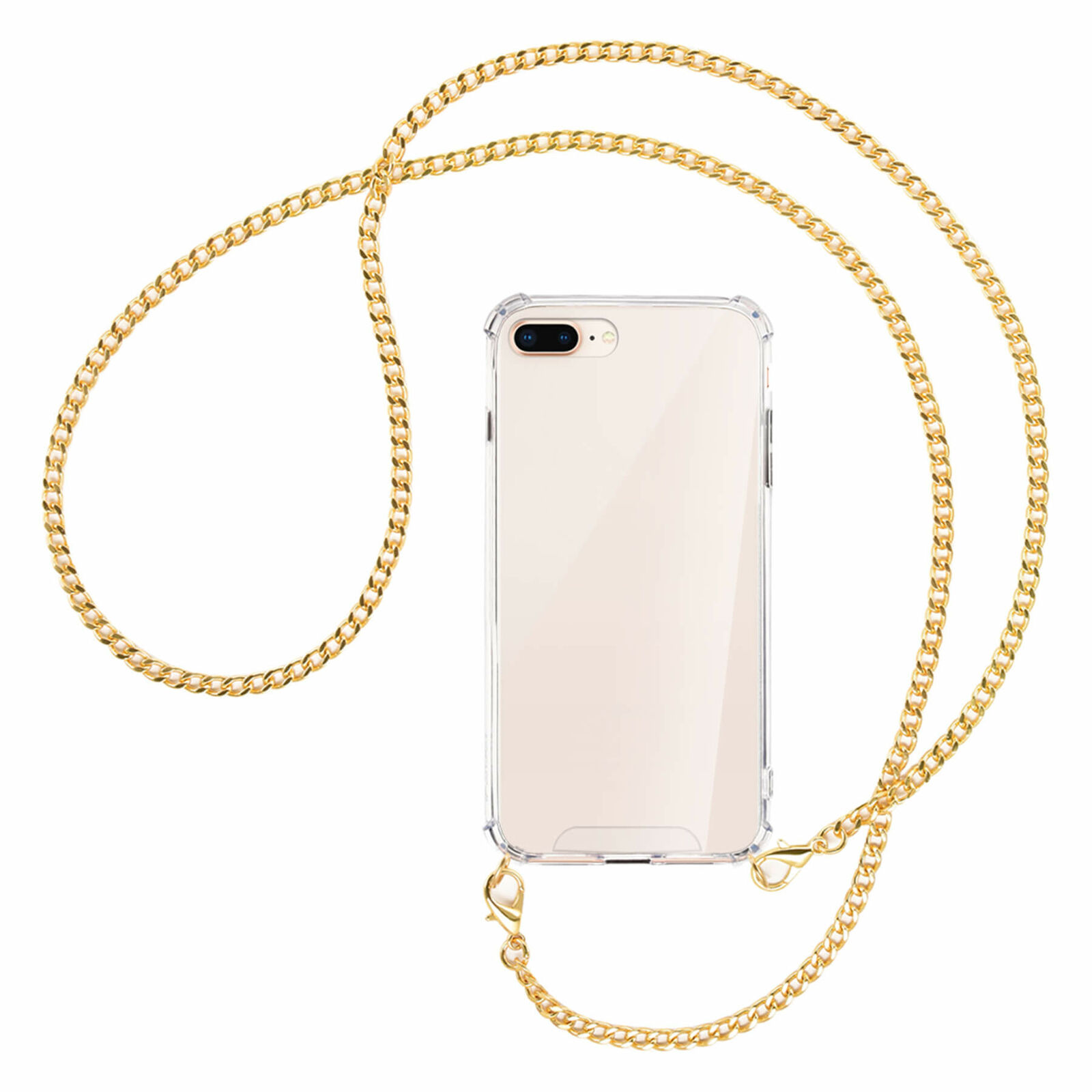 Collar para Apple iPhone 7 Plus / 8 Plus Cadena metal col....