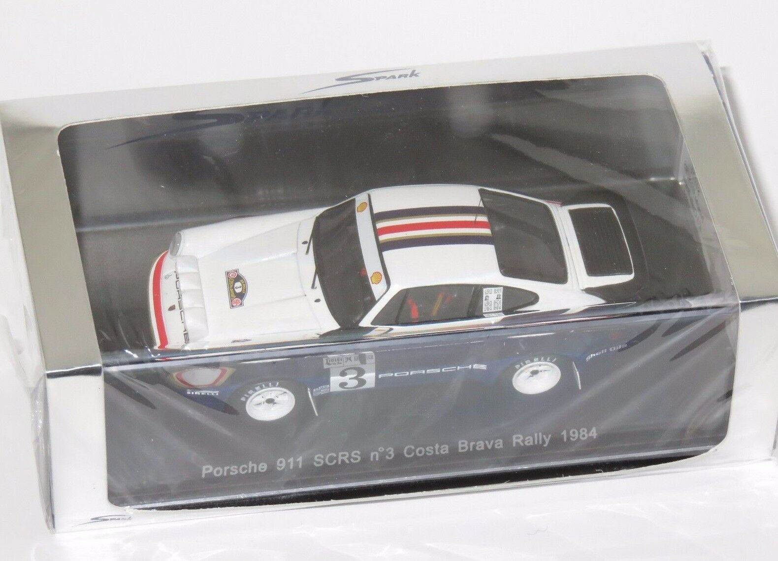 1/43 PORSCHE 911 SCR RALLY COSTA BRAVA 1984  3 H. Toivonen/Piironen J.