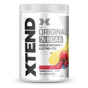 XTEND Original BCAA Powder Knockout Fruit Punch | Sugar Free Post Workout Mus...