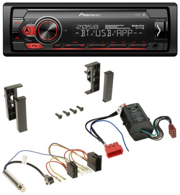 Pioneer 2DIN MP3 AUX USB Bluetooth Autoradio für Peugeot 207 307 Expert Partner